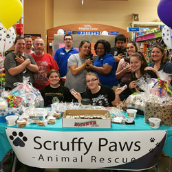 Scruffy Paws Volunteers